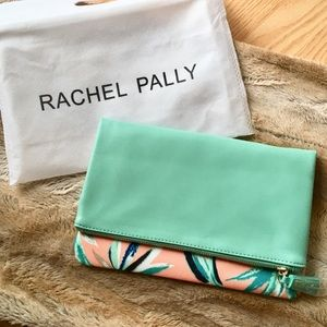 Rachel Pally Reversible Teal Clutch in Paradise